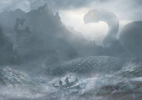 Meeting The World Serpent