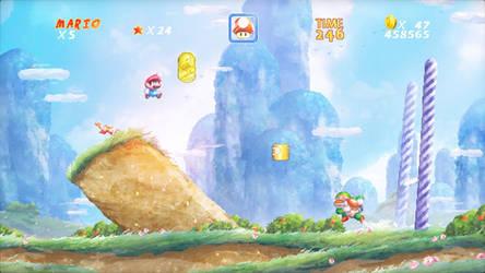 Neo16Bit  - Super Mario World by Orioto