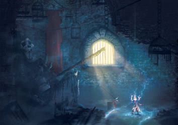 Undead Prisoner by Orioto