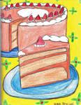 Strawberry Shortcake by DNAArtist07