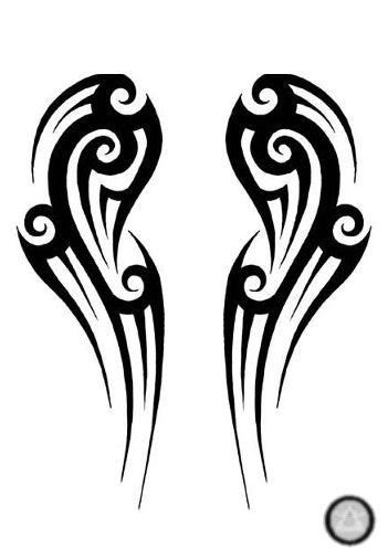 Wing Tribal Tat...