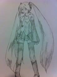 Hatsune Miku by ulrich5000