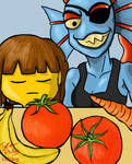 Undertale - Cooking With Undyne