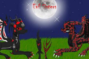 Evil Sisters by Dragonaxxx