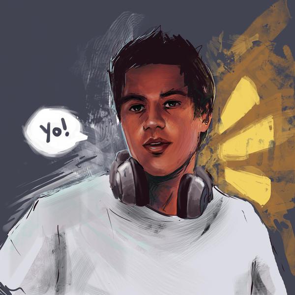 Digital Autoportrait by Papay0u