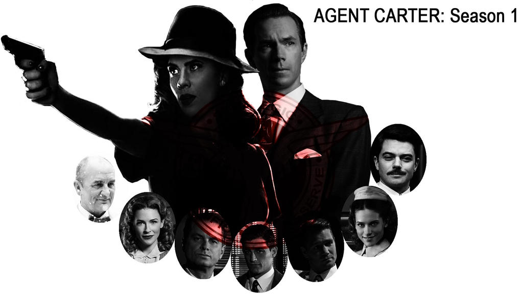 MCU Agent Carter Season 1 by DoctorRy