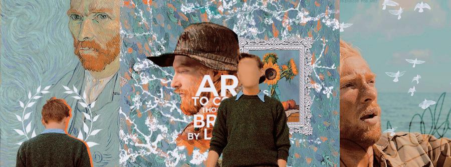 Domhnall Gleeson as Vincent Van Gogh - Timeline by primroseink on ...