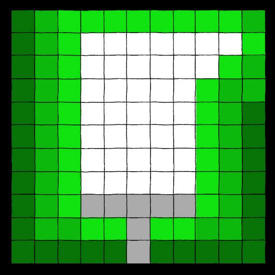 Pixeled Machete Lightsaber by MNS-Prime-21