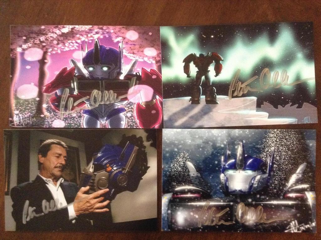 Peter Cullen Autographs!!! by MNS-Prime-21