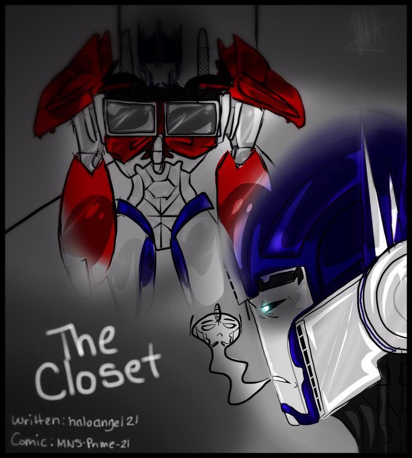 The Closet - Title - pg 1 by MNS-Prime-21