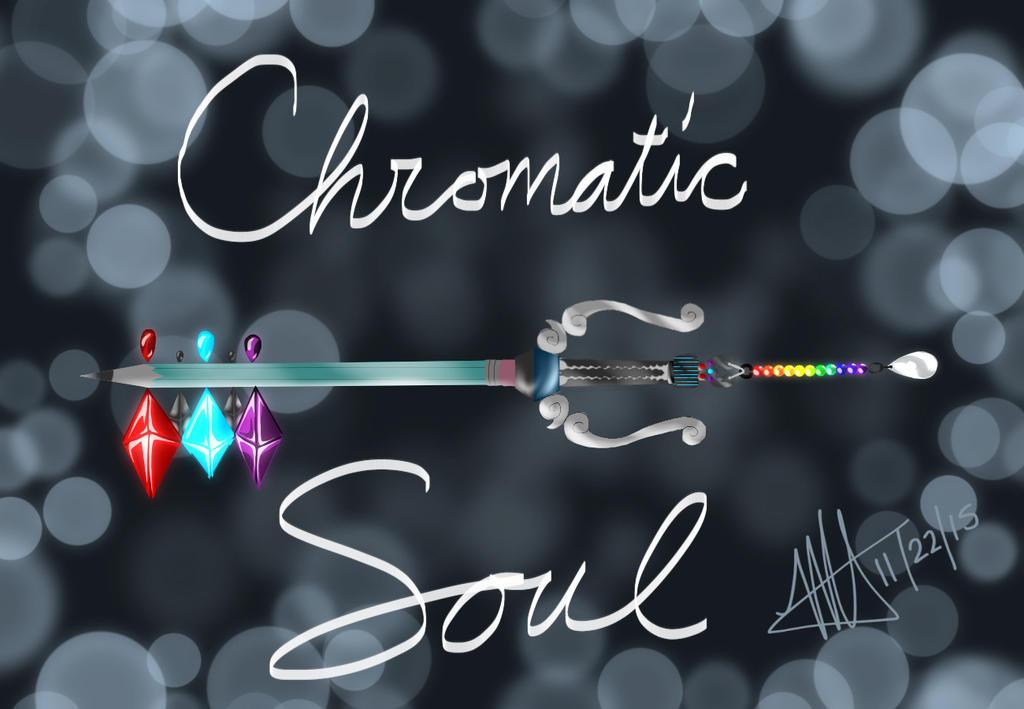 My Chromatic Soul Keyblade by MNS-Prime-21