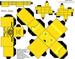 SW Cubeecraft C3PO by Starfic