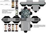 SW Cubeecraft Dejarik Board