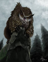 Owlbear by chillier17