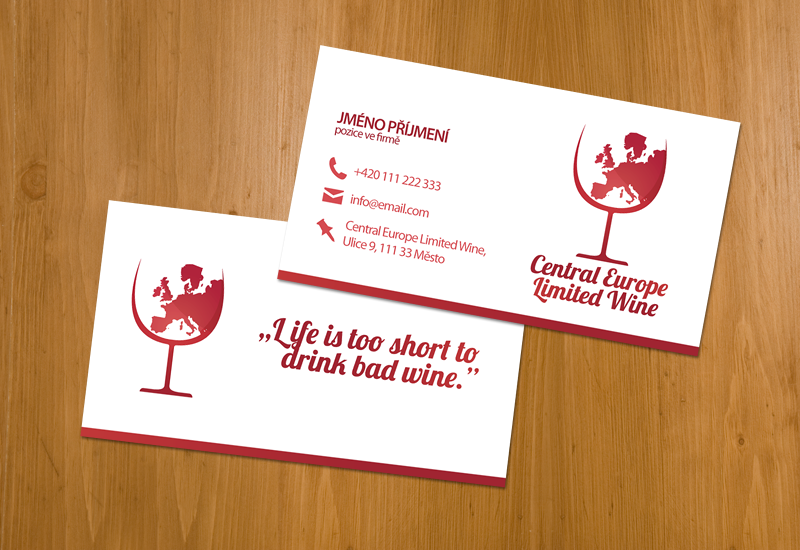 Cel wine business card by pip3r cz on deviantart for Wine business cards