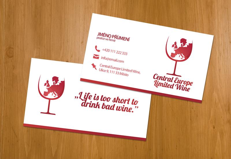 CEL Wine Business Card By PiP3R CZ