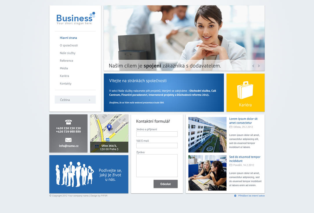 Business webdesign 5 by PiP3R-CZ