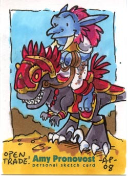 Chillah and his Epic Mount by artyewok