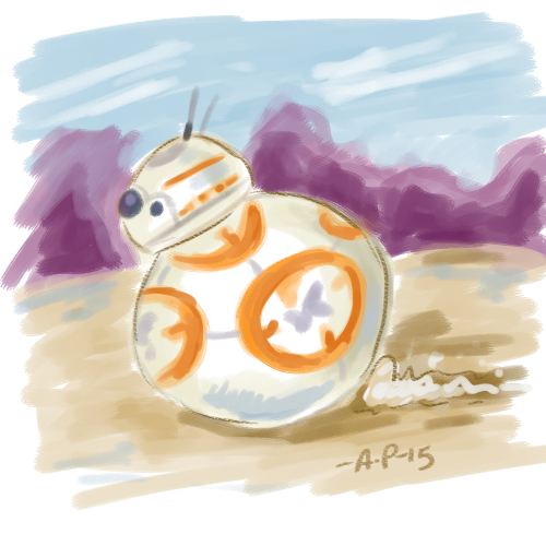 BB8 Speed Paint by artyewok