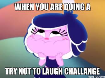 Hanazuki Trying Not To Laugh Meme by DJKitten100