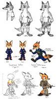 Nick Study by Viperwolf113