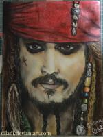 Captain Jack Sparrow by diladi