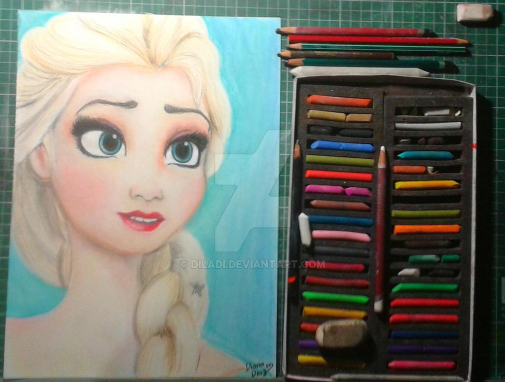 Elsa by diladi