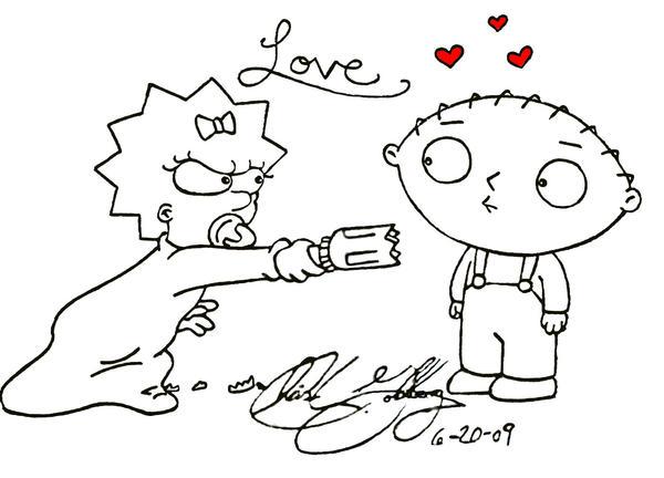 Stewie in love by hotsnowman