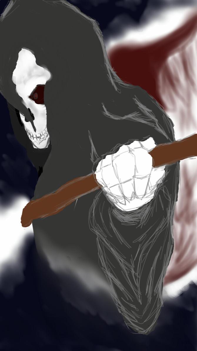 That which hunts- reaper by scilentseasonsakura