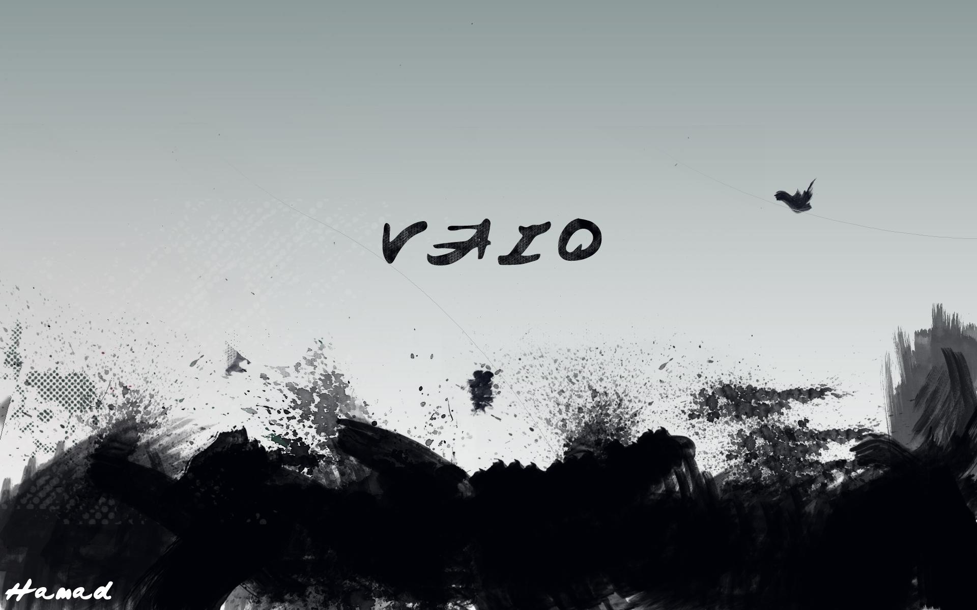 VAIO Ink Wallpaper By Juv10 On DeviantArt