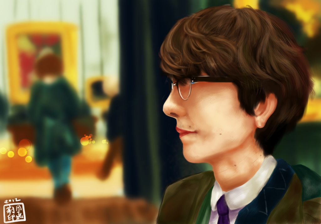 Ben Whishaw by onetealeaf