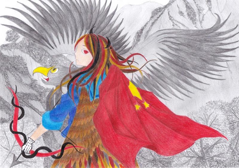 EsXVI: Westflight Laurenxile of Xi'an by IoaleKelina