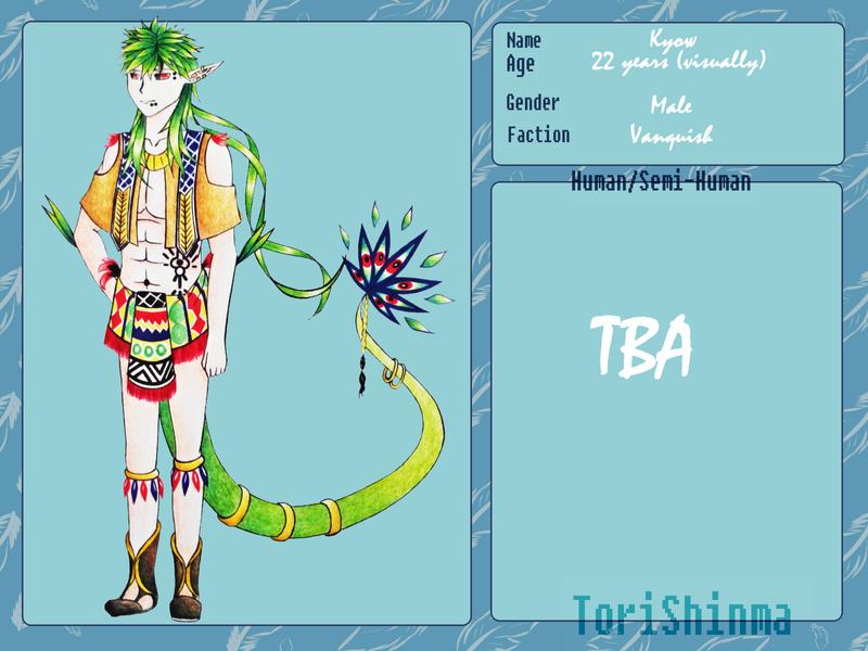 Tori-Shinma: Kyow by IoaleKelina