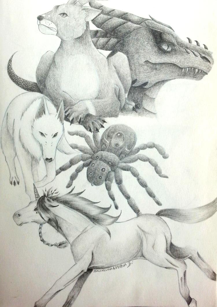 Beasts of the Tower by IoaleKelina
