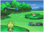Battle Screen by Nesuku