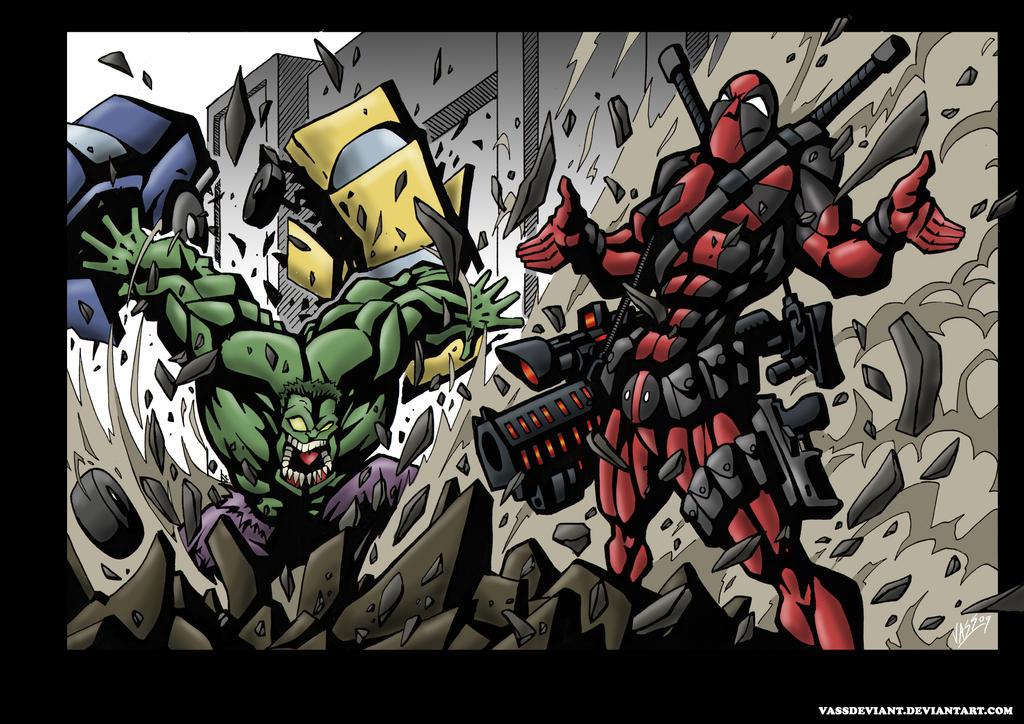 deadpool-hulk-revised for tom by VASS-comics