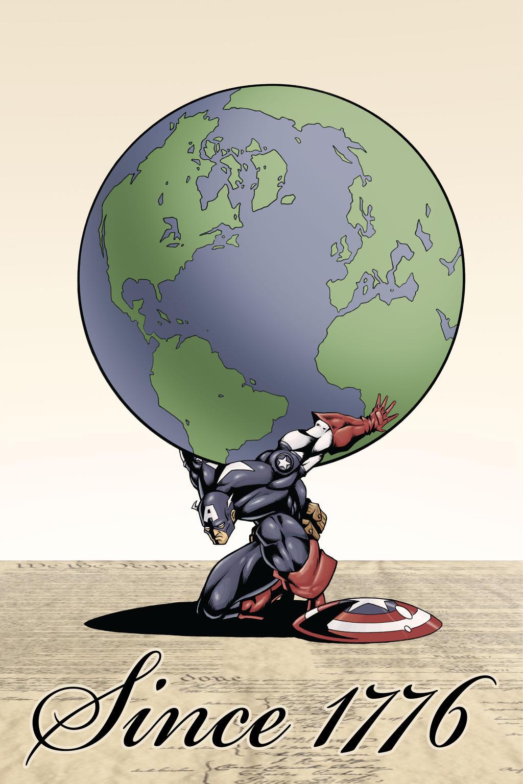 America, Fuck yeah by VASS-comics