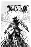 Murderthane Cover inks by VASS-comics