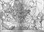 venture bros poster pencils