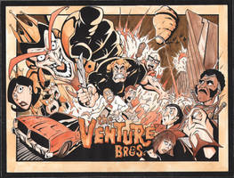 venture brothers  two tone by VASS-comics
