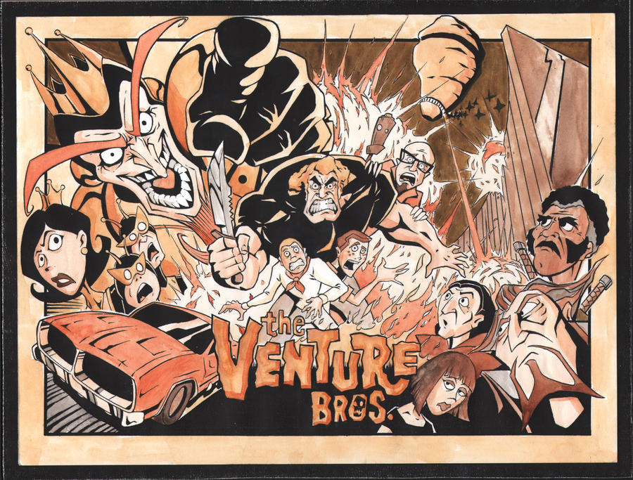 venture brothers coloring pages - photo#31