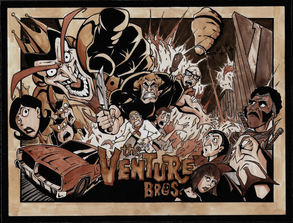venture-color halftone by VASS-comics