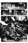 batman vs predator pg1 inks