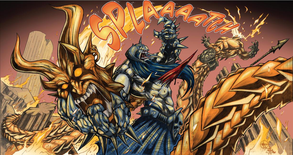 Murderthane 3pg fold out final by VASS-comics