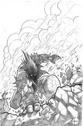 lobo cover by VASS-comics