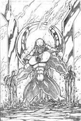 Red Lantern Atrocitus by VASS-comics