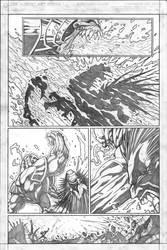 Red vs Green vs Lobo pg6 by VASS-comics