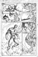 Red vs Green vs Lobo pg3 by VASS-comics