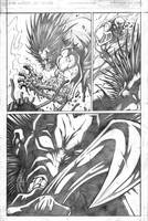 Red vs Green vs Lobo pg7 by VASS-comics