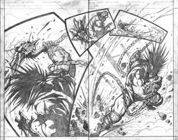 Red vs Green vs Lobo pg8-9 by VASS-comics